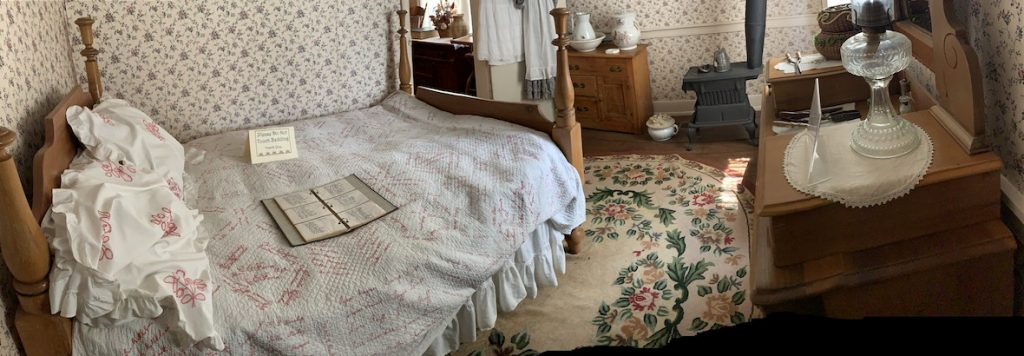 Downstairs Bedroom at the Overland Inn